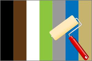外壁塗装で用いられる事の多い7つの色が持つ印象とそれぞれの効果や見え方!