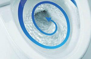ネオレストは水を流す度に便器を洗ってくれる!「トルネード洗浄」の驚くべき機能