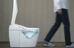ネオレストだと嫌~な流し忘れが無い!いつでもクリーンなトイレを使用できます