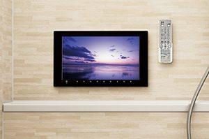 オフローラは「地デジ対応テレビ」も付けられる!優雅なバスタイムを過ごせます