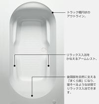 ラウンドライン浴槽