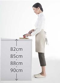 「リテラ」はキッチンの高さを選べる